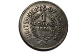 SALE 1851 Indian Silver dollar - Fantasy Coin