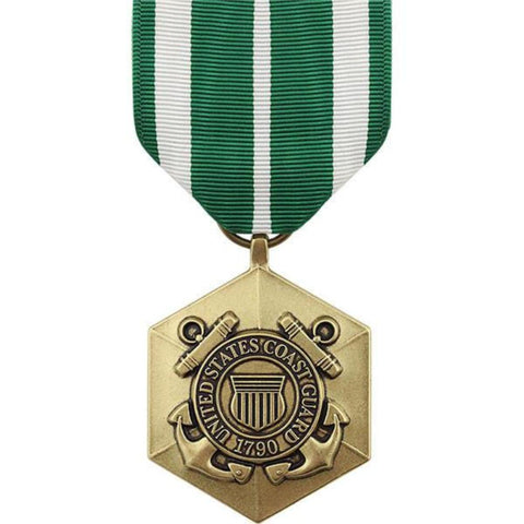 Vanguard Full Size Medal: Coast Guard Commendation (VG-6609410) - Hahn's World of Surplus & Survival
