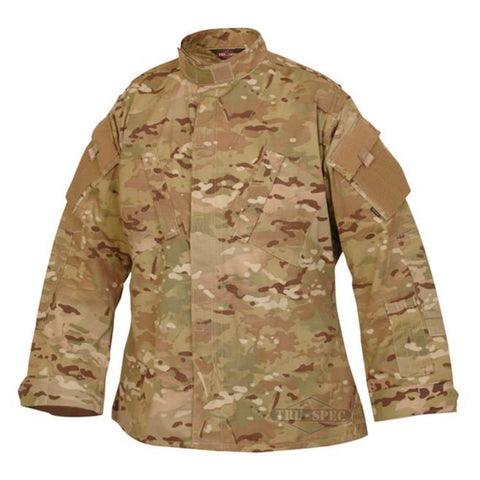 Tru-Spec Tactical Response 65/35 Polyester Cotton Rip-Stop Uniform Shirt - MultiCam (TS-1298) - Hahn's World of Surplus & Survival
