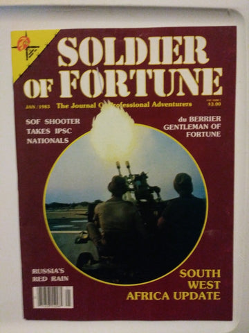 Vintage Soldier of Fortune Magazine - SOF Shooter Takes IPSC Nationals 1983