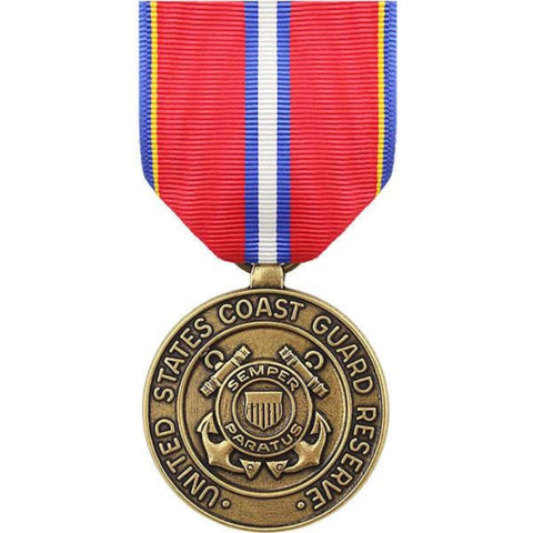 Vanguard Full Size Medal: Coast Guard Reserve Good Conduct (VG-6609655) - Hahn's World of Surplus & Survival