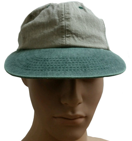 Ballcap - Washed Green or Blue