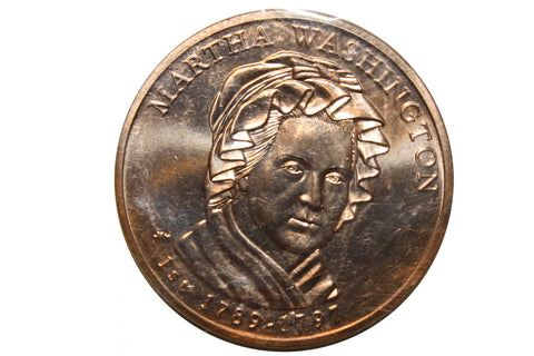 2007 Martha Washington Liberty Medal- 1st Spouse Coin - Bronze (165MOM-COIN)