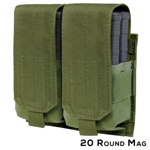Condor Double M14 Mag Pouch (C-191089) - Hahn's World of Surplus & Survival - 2