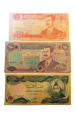 Iraqi 5, 250 & 10,000 Dinar note (192MOM-DOLLAR)