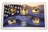 2003 S U.S. Mint Quarters Proof Set