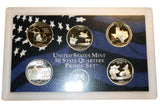 2004 S U.S. Mint Quarters Proof Set (200MOM-COIN)