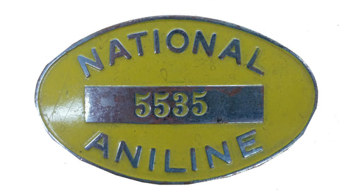 SALE Obsolete Badge - National Aniline