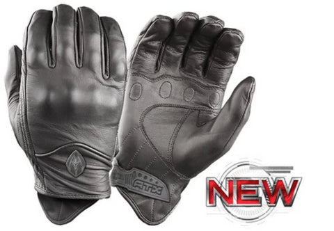 Damascus All-Leather Gloves with Knuckle Armor (D-ATX-95) - Hahn's World of Surplus & Survival