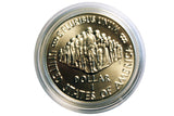 SALE 1987 US Constitution Commemorative Proof Silver Dollar  (208MOM-COIN)