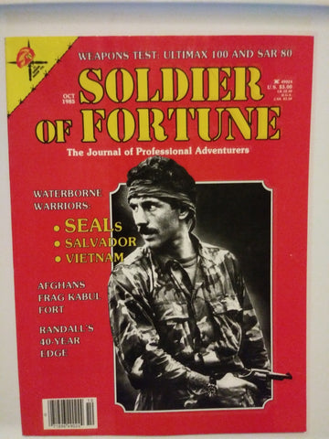 Vintage Soldier of Fortune Magazine - Weapons Test: Ultimax & SAR 1983 (21HWS-SOFMAG)