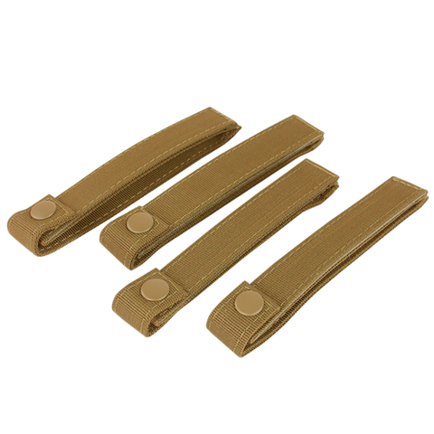 "Condor 6"" Mod Straps (4pcs) - Coyote Brown (224)"
