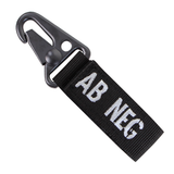 Condor Blood Type Key Ring (C-239) - Hahn's World of Surplus & Survival - 9