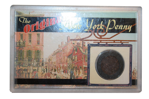 The Original New York Penny Coin