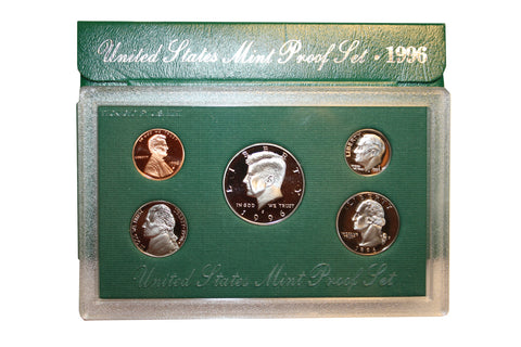 1996 U.S. Mint Coins Proof Set