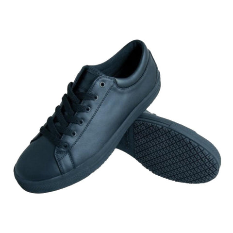 Genuine Grip Men's Retro Lace-up Shoe - Black