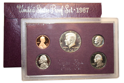 1987 U.S. Mint Coins Proof Set