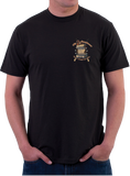 Black Ink 2nd Amendment - Dont Tread on Me T-Shirt (MT-620) - Hahn's World of Surplus & Survival - 2