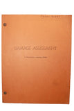 "SALE 1970 TV Suspense Drama Script ""Damage Assessment"""