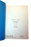"SALE 1975 Original Script Barnaby Jones ""Double Vengeance"""