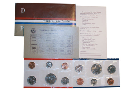 1984 US Uncirculated Coin Set
