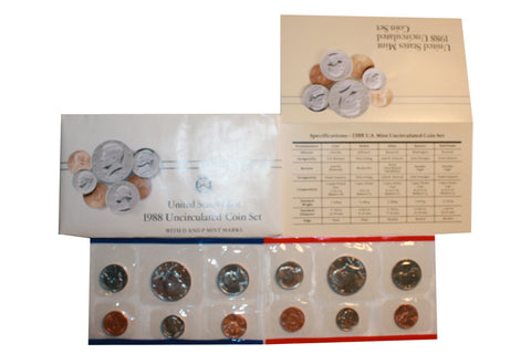 1988 US Uncirculated Coin Set