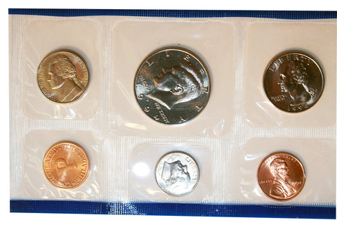 1994 D Roosevelt Dime ~ Uncirculated Coin in Cellophane from Mint Set