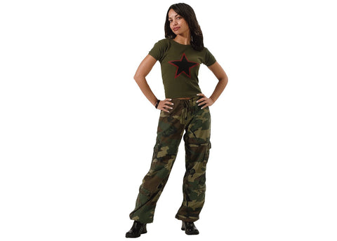 Rothco Womens Vintage Paratrooper Fatigues Woodland Camo (R-3386/3387/3388) - Hahn's World of Surplus & Survival