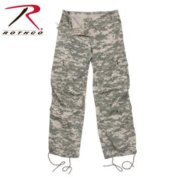 Rothco Womens Vintage Paratrooper Fatigues A.C.U. Digital Camo (3396) - Hahn's World of Surplus & Survival