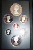 1982 Canada Royal Mint Proof Coin Year Set (369MOM-COIN)