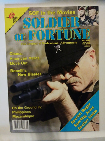 Vintage Soldier of Fortune Magazine - SOF in the Movies 1987 (36HWS-SOFMAG)