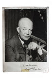 1953 Picture of Dwight D. Eisenhower to Cheryle Sarkin in 1956