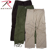 Rothco Pants - Womens Vintage Paratrooper Fatigues - Solid Colors