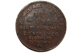 Vintage Swastika Good Luck Coin - E O'Reilly Co.