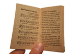 Rare 1942/43 German Song Book, Patriotic Songs, Liebeslieder- Book