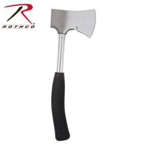 Rothco Hand Axe (R-44) - Stainless Steel Head With Nail Puller