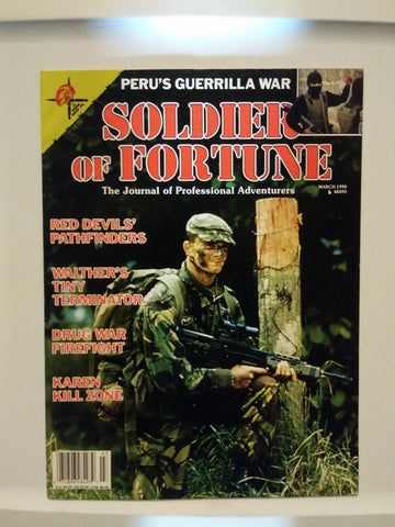 Vintage Soldier of Fortune Magazine - Peru's Guerrilla War 1990