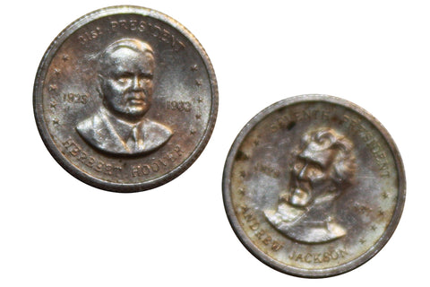 Presidential-Miniature Replacement Coins (2)
