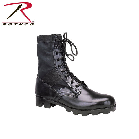 "Rothco G.I. Style Jungle Boot 8"" Black/OD (R-5081/5080) - Hahn's World of Surplus & Survival - 3"