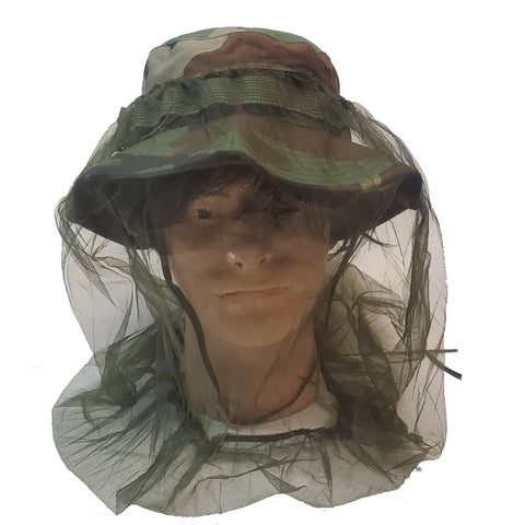 Mosquito Net for Boonie Hat