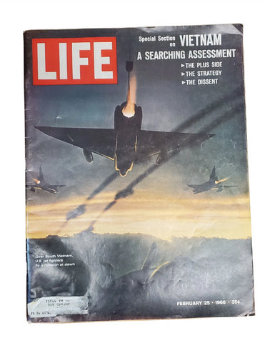 Life Magazine 2-25-66 Vietnam A Searching Assessment (58HWS-LIFE)