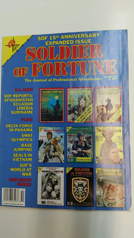 Vintage Soldier of Fortune Magazine - 15th Anniversary Expanded Issue 1990