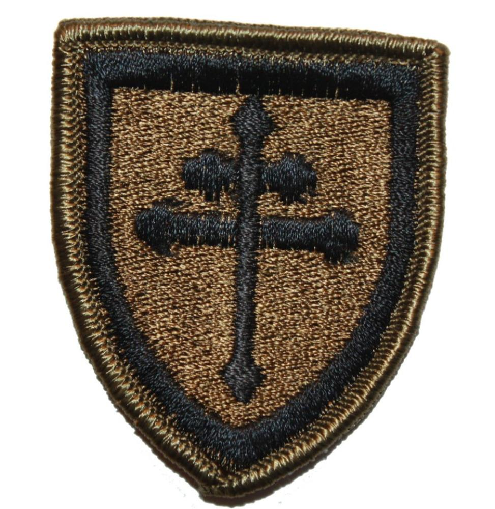 Collector's Patch: Cross of Lorraine Crusader Shield Morale (619HWS-C)