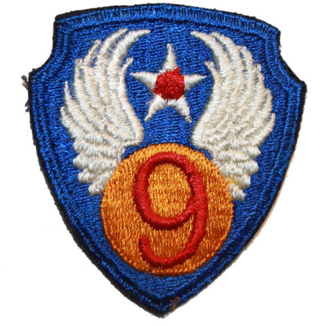 Collector's Patch: WWII US Army Air corps 9th Air Force