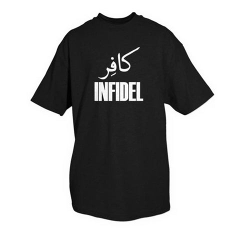 Fox Infidel One-Sided Imprinted T-Shirt (F-64-6292/3/4) - Hahn's World of Surplus & Survival - 1