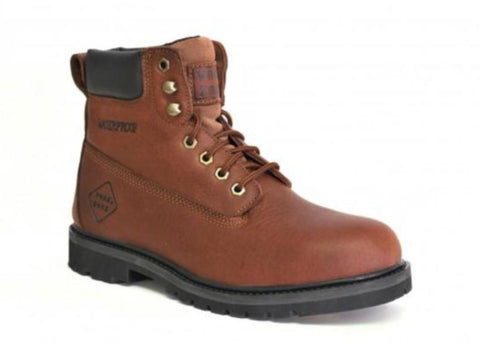 Work Zone Boot - Leather Work - Brown (N654)
