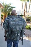 U.S. Army ACU Molle II Large Rucksack Full Size w/2-Deployment Pouches