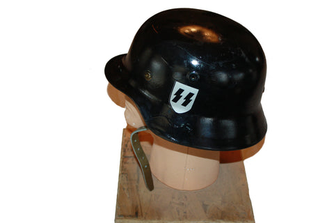 Vintage German WWII Luftwaffe Double Decal Helmet - DS64