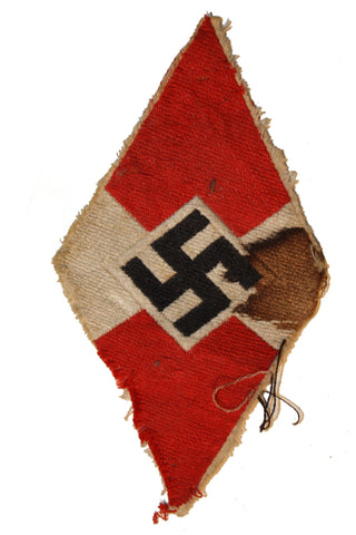Vintage WWII German Youth Diamond Patch