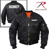 "Rothco ""Security"" MA-1 Flight Jacket (R-7357/58/59)"